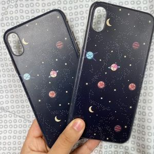 iPhone XS Max phone case: galaxy/space/planets